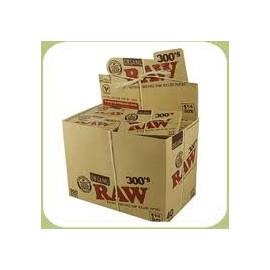 Caja de 40 librillos Raw 300 orgánico