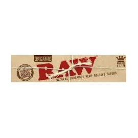 Papel Raw Orgánico King Size Slim