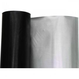 Plástico reflectante Diamond / negro 10 metros