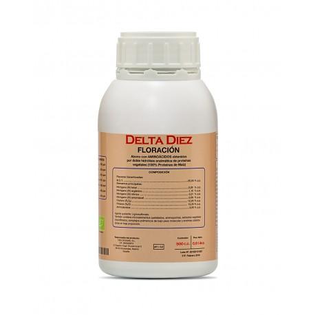 Delta Diez, fertilizante de floración de Cannabiogen