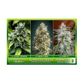 Feminized Collection 3 de Advanced Seeds
