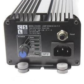 Balastro electrónico CSL 600W con regulador