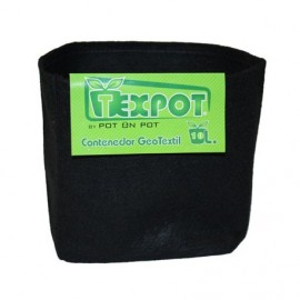 Maceta Tex Pot negra de 15L
