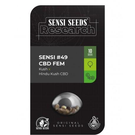 Sensi 49 CBD de Sensi Seeds Research