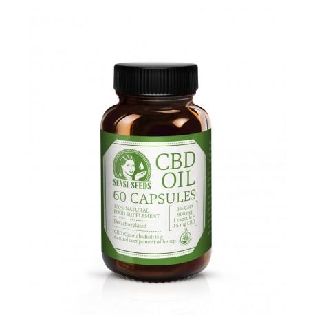 Cápsulas CBD 5% Sensi Seeds