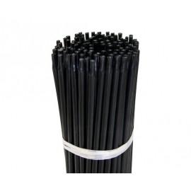 Tutor de plástico 7mm x 90cm con punta, pack de 100 ud.