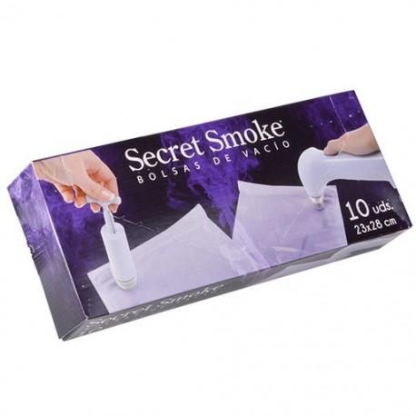 Bolsas de vacio Secret Smoke de 23x28 cm Pack de 10 bolsas