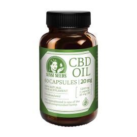 Cápsulas CBD 20 mg Sensi Seeds