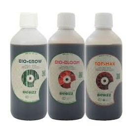 Pack básico de fertilizantes Biobizz