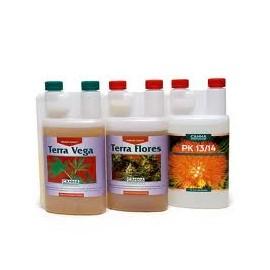 Pack de fertilizantes Canna básico