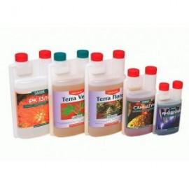 Pack de fertilizantes Canna completo