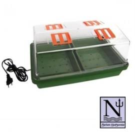 Propagador eléctrico de semillas y esquejes 38x24x19 cm