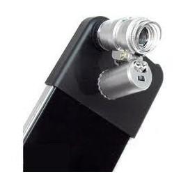 Mini microscopio con adaptador para iphone