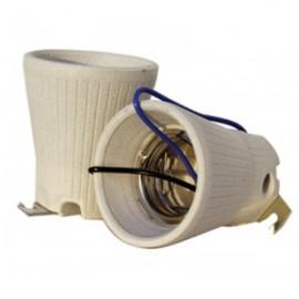 Portalamparas porcelana E40